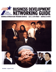 Business Development Networking Guide