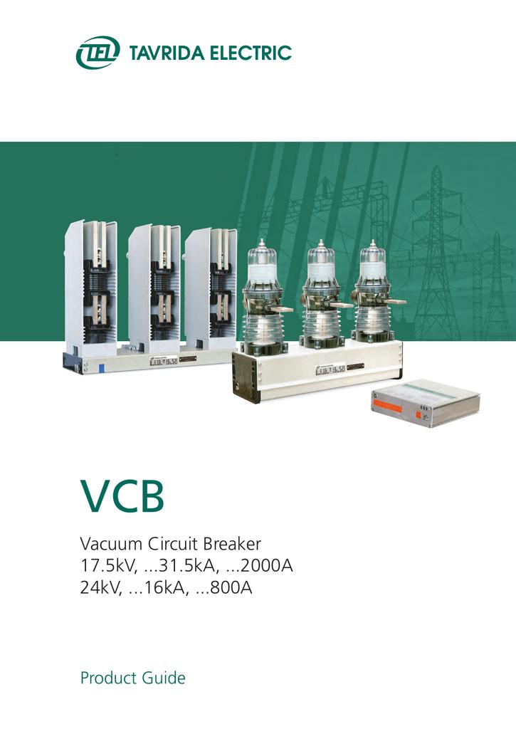 Vacuum Circuit Breakers pdf, 5 Mb