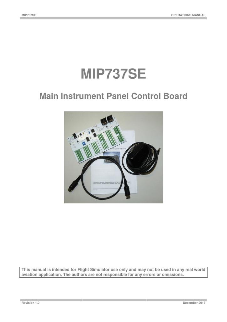 MIP737SE - CPFlight
