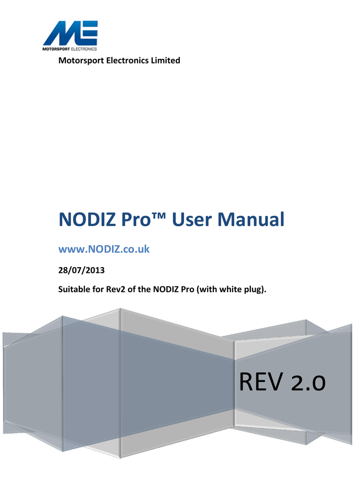 Admirable Nodiz Pro User Manual Wiring Cloud Hisonuggs Outletorg