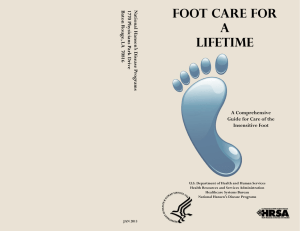 Foot Care For A Lifetime - American Diabetes Association