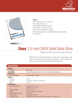 Zeus 2.5-inch SATA Solid State Drive