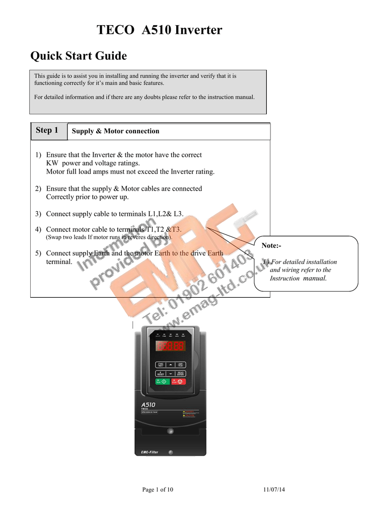 Awesome 7300 Cv Quick Start Programming Guide Wiring Digital Resources Helishebarightsorg