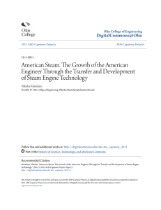 American Steam. The Growth of the American Engineer Through the