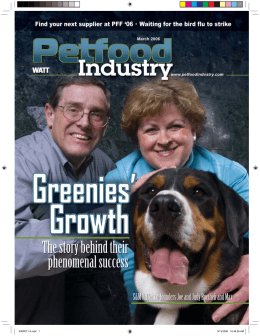 March - Petfood Industry