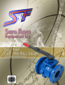 Full Port Ball Valves Catalog in PDF