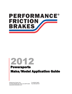 2012 Powersports Application Guide