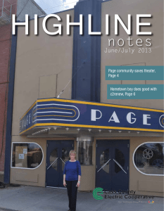 Highline Notes June/July 2013