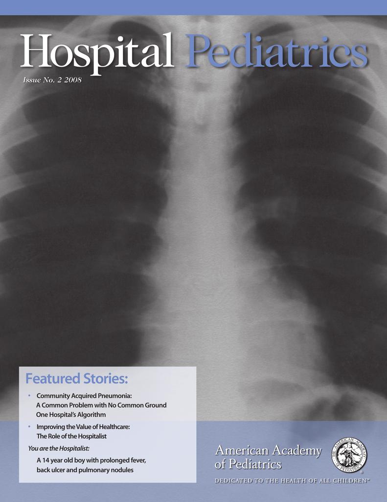Hospital Pediatrics