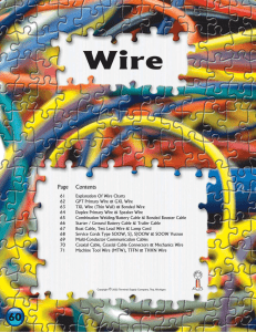 Explanation of Wire Charts