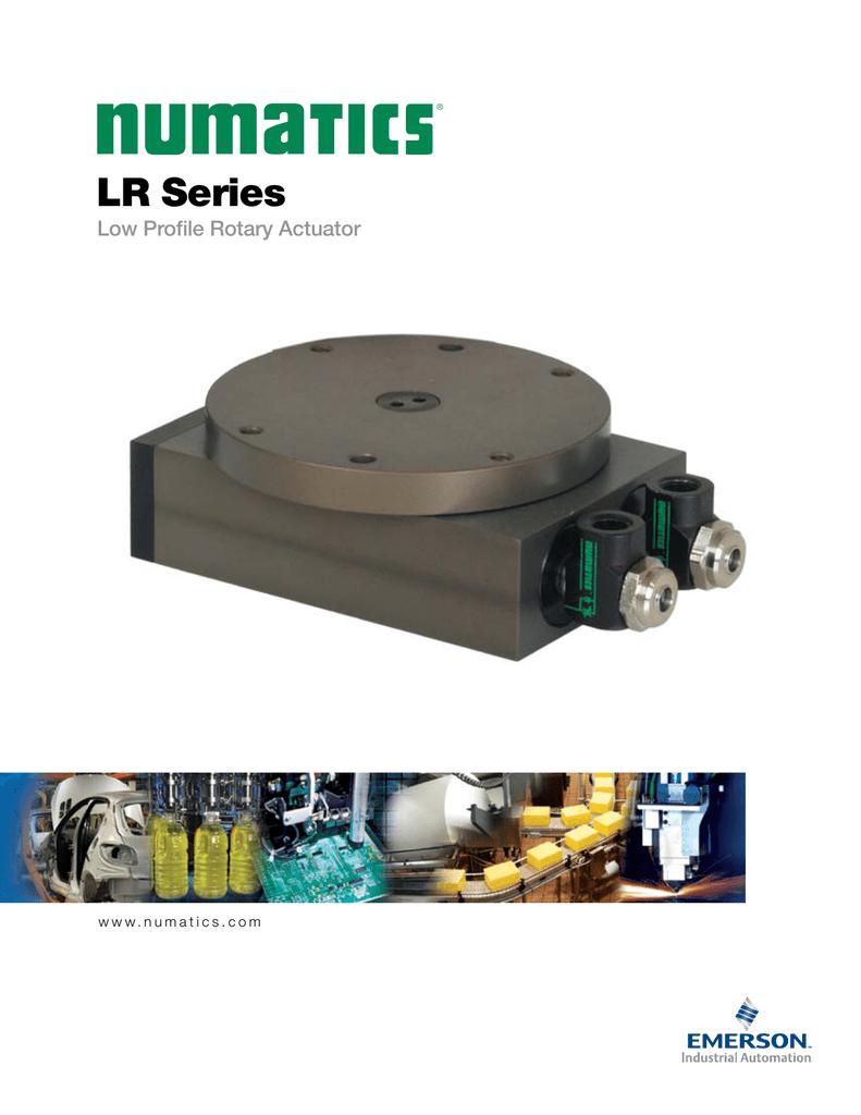 Numatics Series Lr Rotary Actuator Catalog The Circuit Electronics