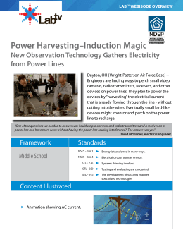 Power Harvesting–Induction Magic