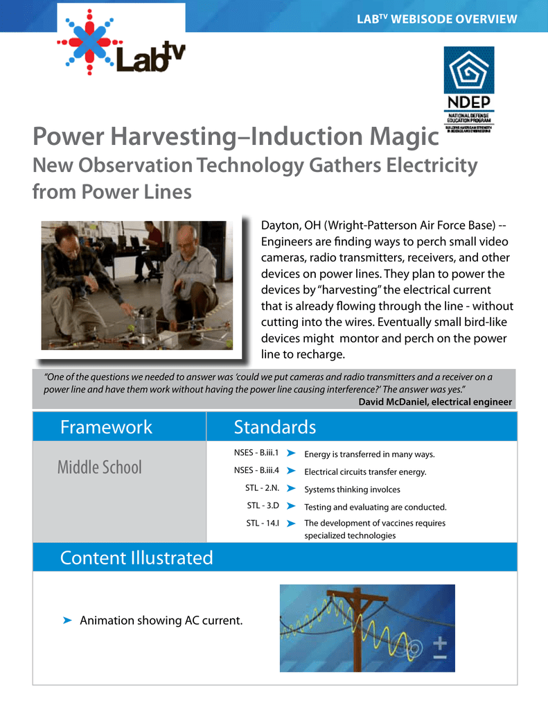 Power Harvestinginduction Magic Wiring And Testing Electrical Equipment Circuits Answers