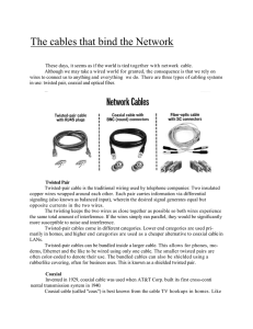 Networks Cables