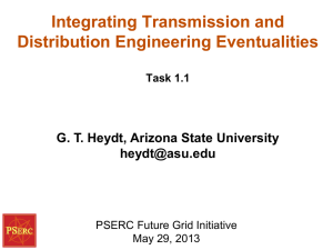 Integrating Transmission and Distribution Engineering Eventualities