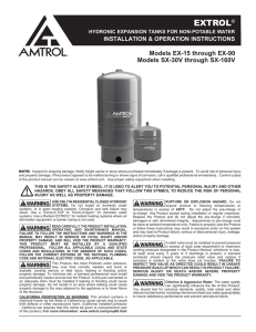 Amtrol- Water System Solutions - Commercial, Industrial, Residential