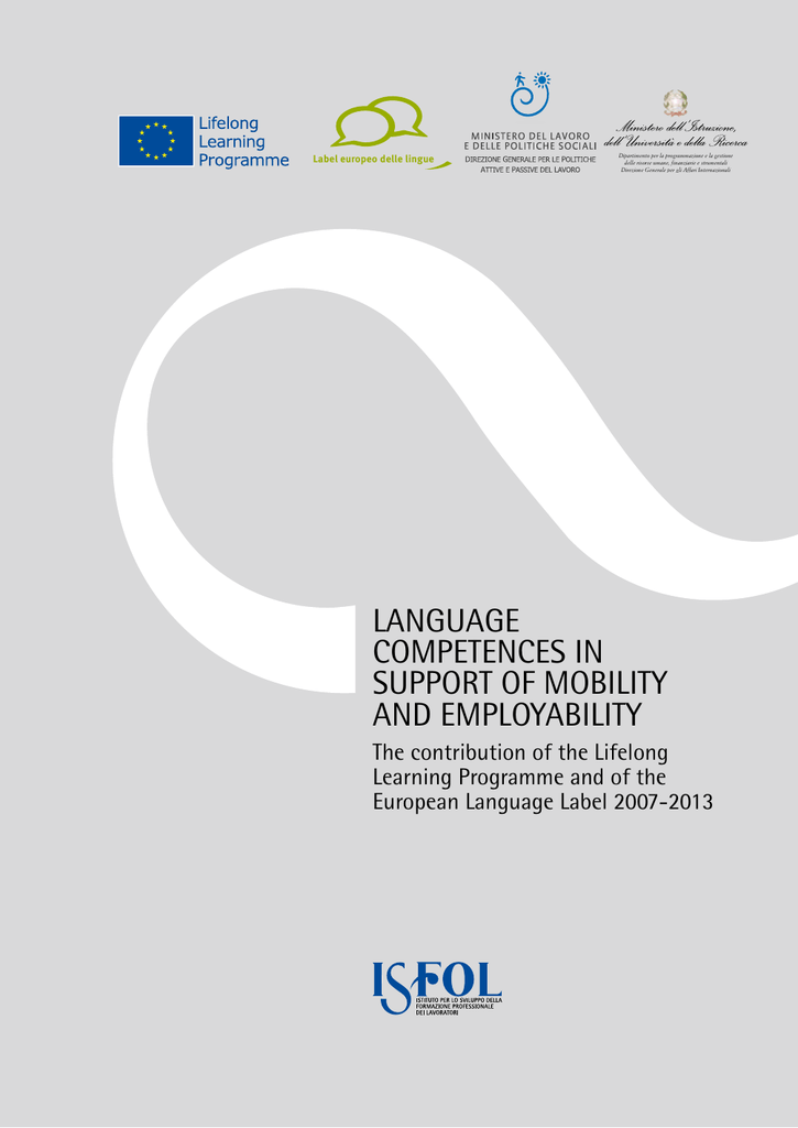 language competences in support of mobility and employability