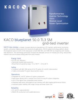 kaco blueplanet 02xi series grid tied inverters kaco blueplanet 50 0 tl3 sm grid