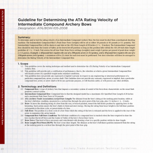 Guideline for Determining the ATA Rating Velocity of Intermediate