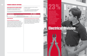 Electrical Division - Ranken Technical College