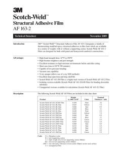 AAMD Technical Data Sheets