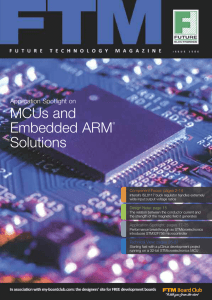 MCUs and Embedded ARM® Solutions
