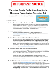 Worcester County Public Schools switch to Electronic Flyers starting