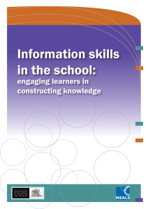 Information skills in the school