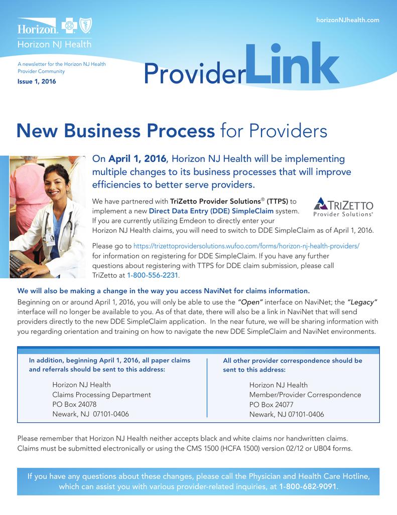 Provider - Horizon NJ Health