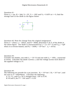 Digital Electronics Homework #1