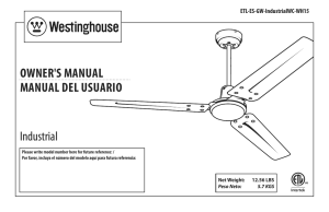 OWnEr`S ManuaL ManuaL dEL uSuarIO Industrial