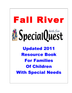 Special Quest Resource Book