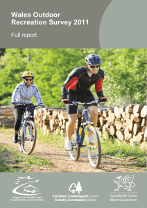 Wales Outdoor Recreation Survey 2011