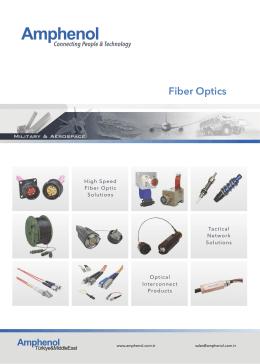 Amphenol Fiber Optic Contacts