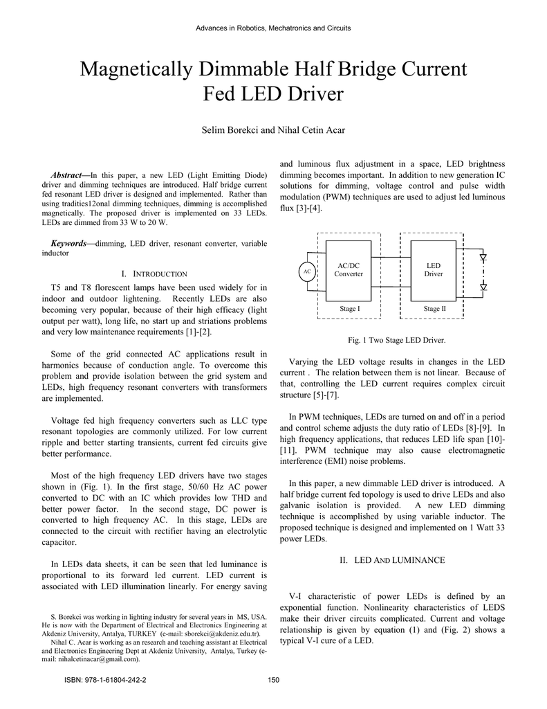 Magnetically Dimmable Half Bridge Current Fed Led Driver Circuit In Addition Light Emitting Diode Further Rectifier 018820245 1 73a6c7675c819f7c0fcd3f4c9eecf2a2