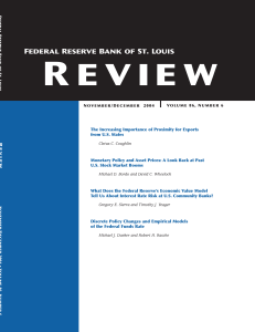Complete Issue - St. Louis Fed - Federal Reserve Bank of St. Louis