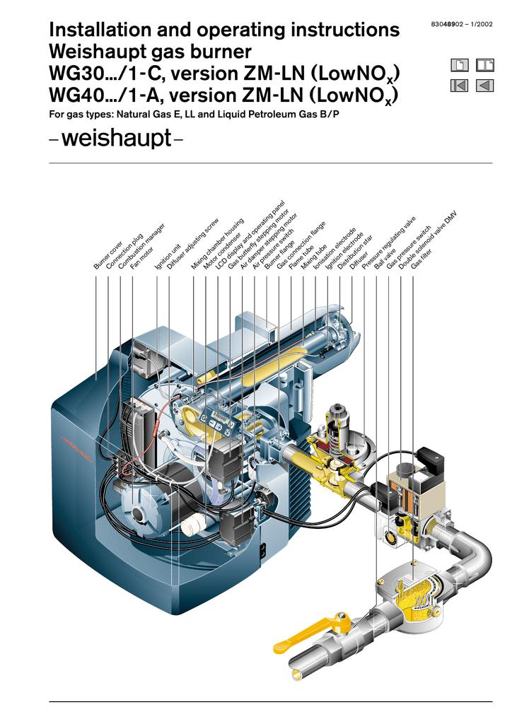 Weishaupt wg 30 service manual