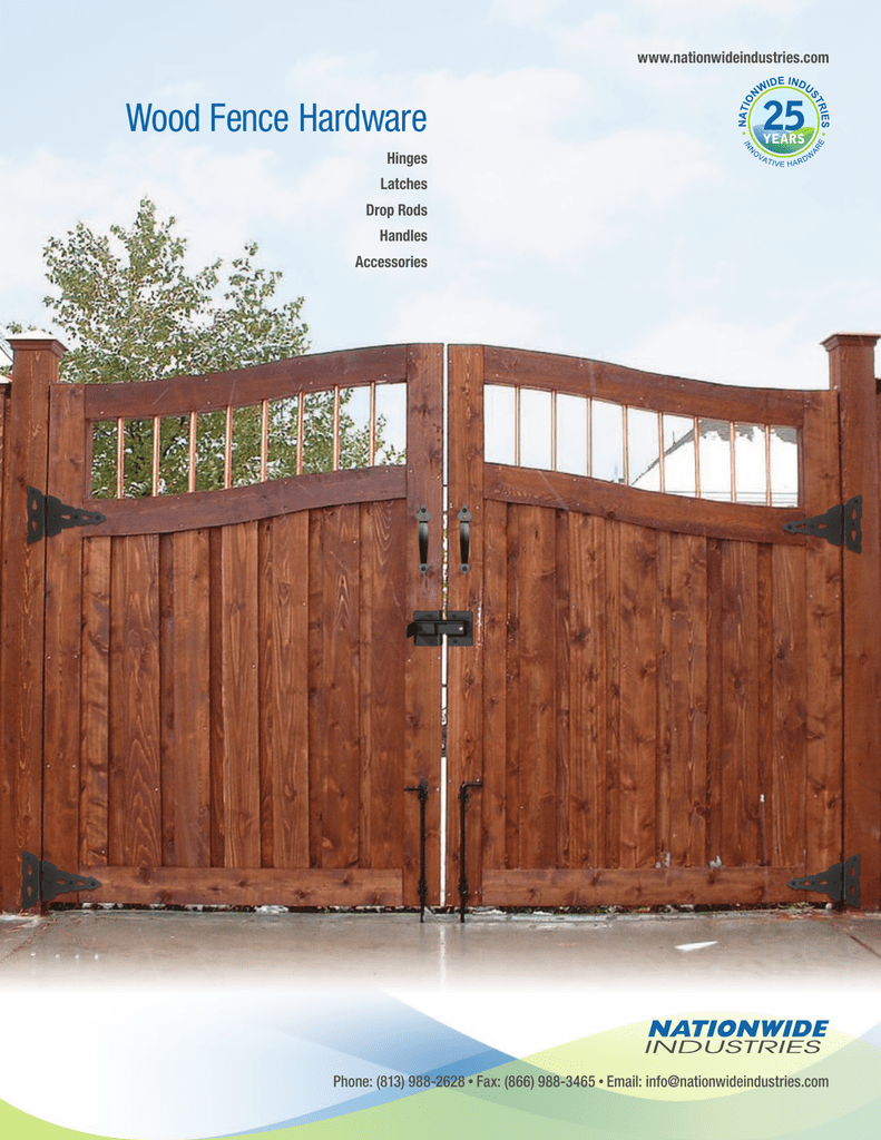 Wood Fence Hardware - Nationwide Industries
