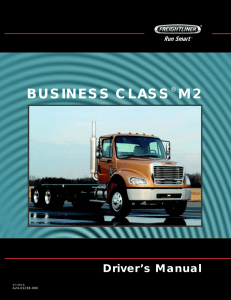 Business Class M2 Driver`s Manual