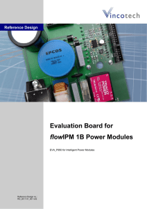 Reference Design Evaluation Board for flowIPM - All