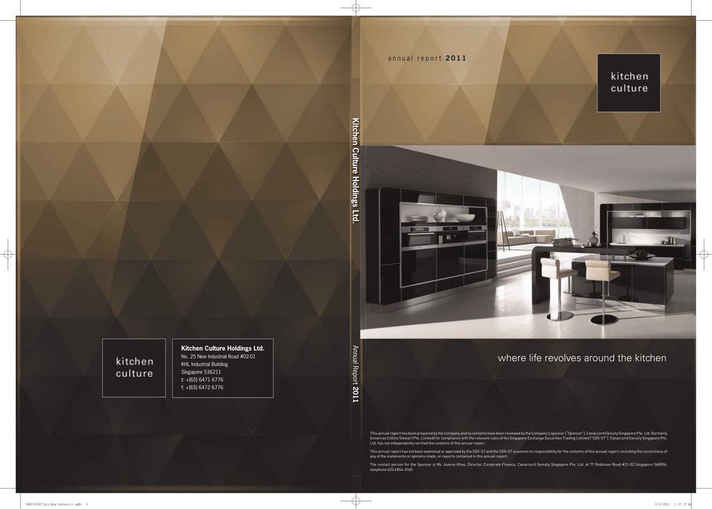Kitchen culture annual report
