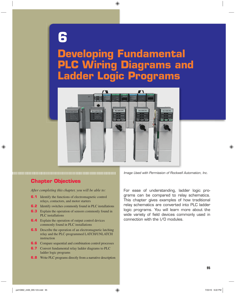 Chapter  Developing Fundamental PLC - Two coil latching relay