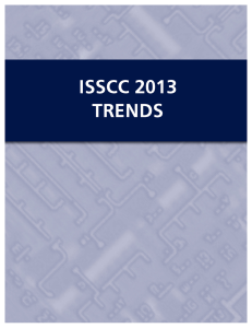 isscc 2013 – technology trends - International Solid