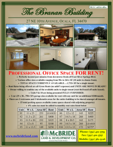 PROFESSIONAL OFFICE SPACE FOR RENT!