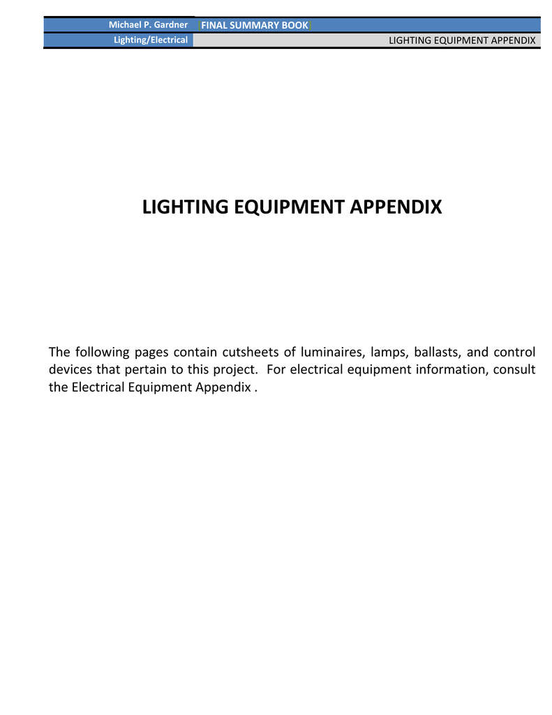 Lighting Appendix Pdf Philips F54t5ho Ballast Wiring Diagram