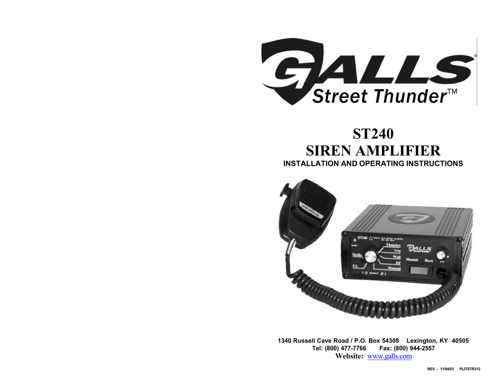 ST240 - SS700 on