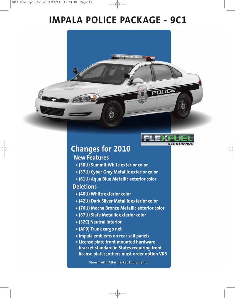 impala police package 9c1 unmarked chevy impala police car 2006 2010 w19 wiring harness body (exc