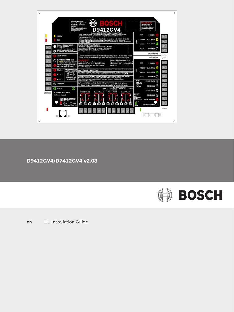 bosch 7412gv4 user manual wiring diagrams wiring diagram. Black Bedroom Furniture Sets. Home Design Ideas