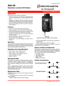 XAL-53 - Fire-Lite Alarms by Honeywell
