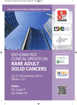 rare adult solid cancers